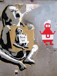 graffiti Friedrichshain Berlin