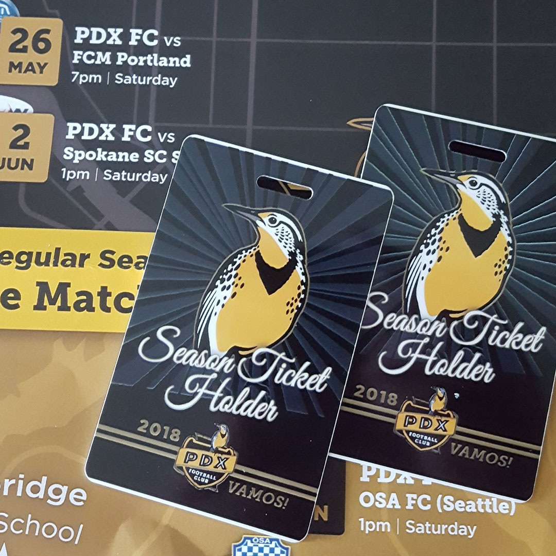 pdx football club soccer badge season passes brand identity