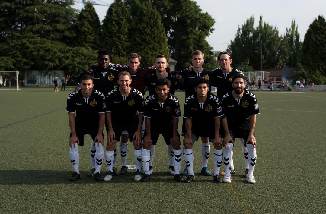 PDX FC soccer team jerseys branding kit