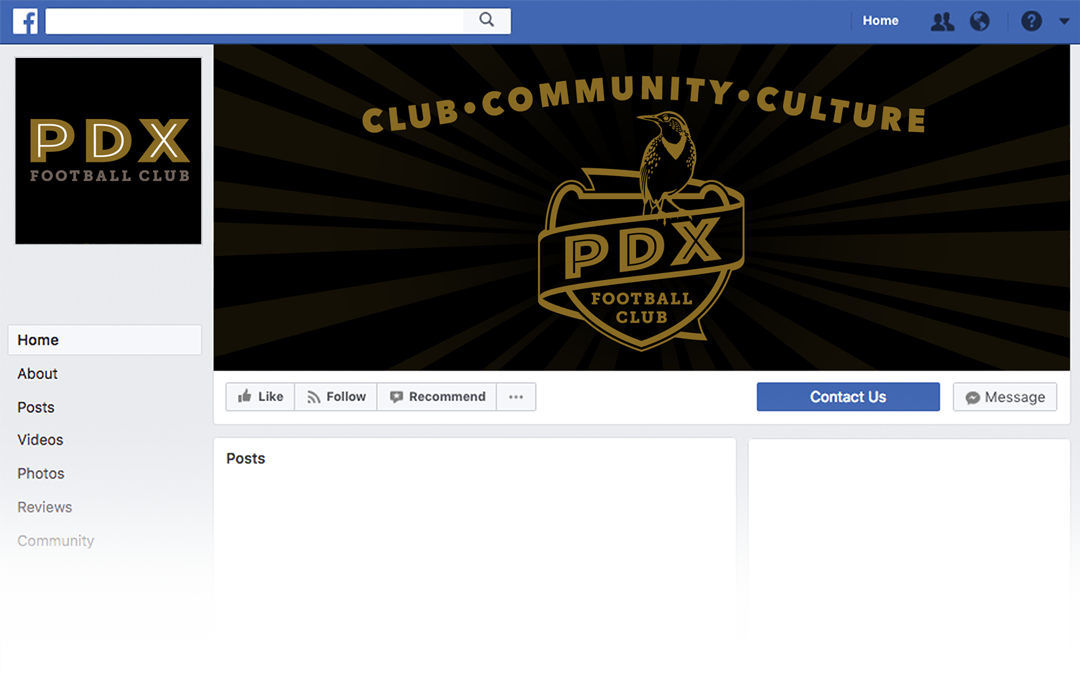 PDX FC Facebook graphic soccer