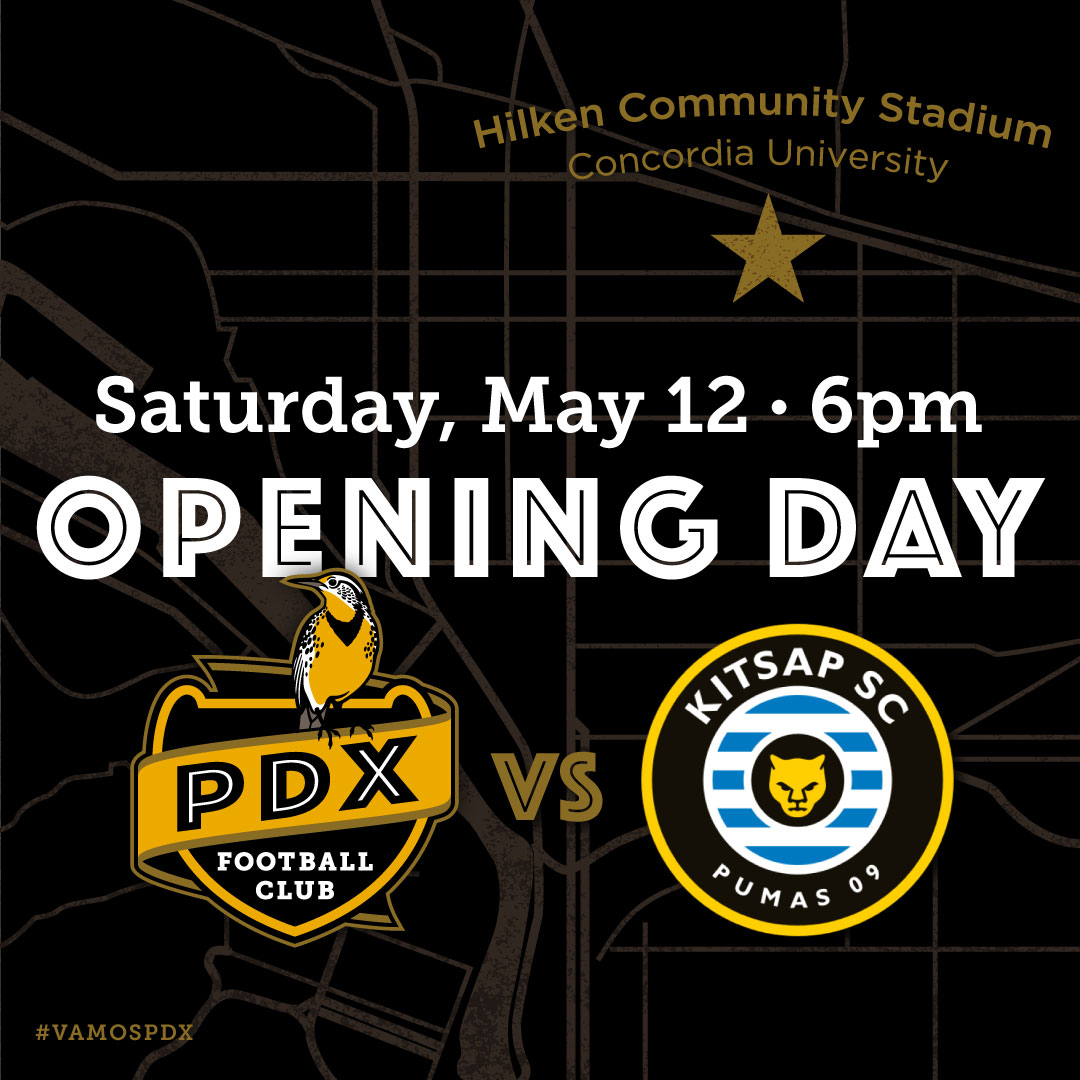 PDXFC match announcement social media