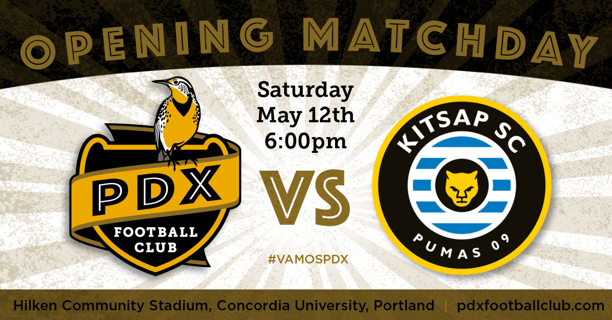PDXFC social media match announcement
