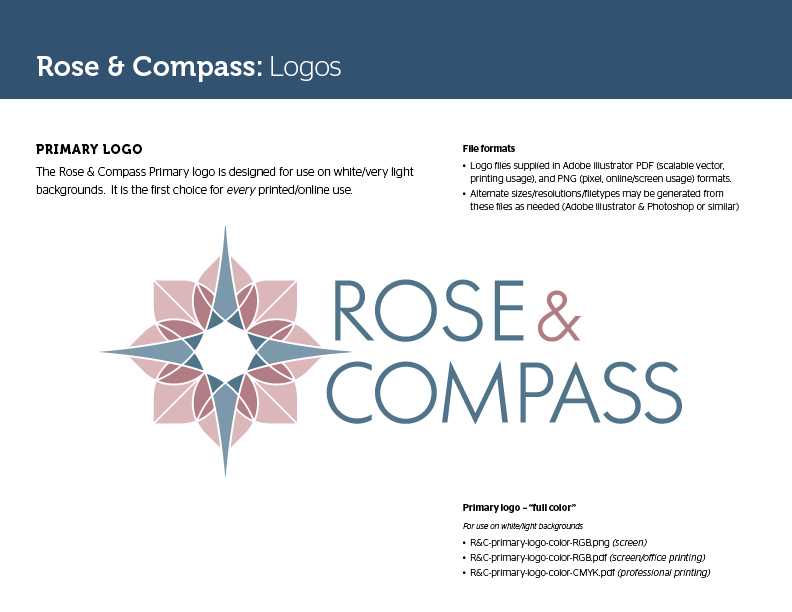 Sheraton Rose & Compass brand standards guide
