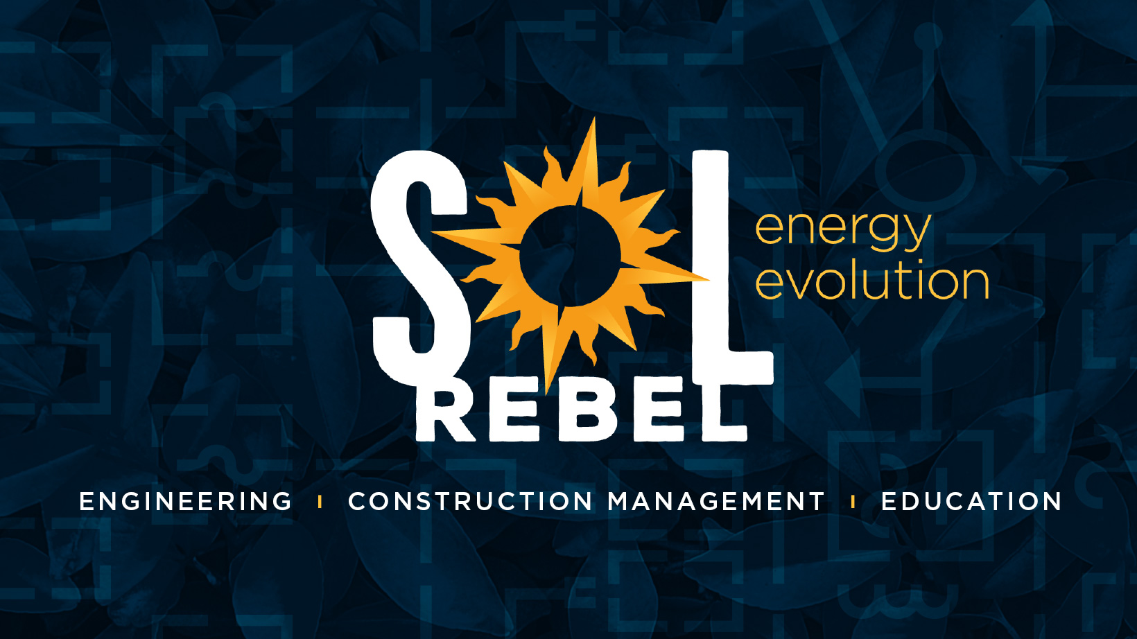 Sol Rebel Facebook cover solar energy design