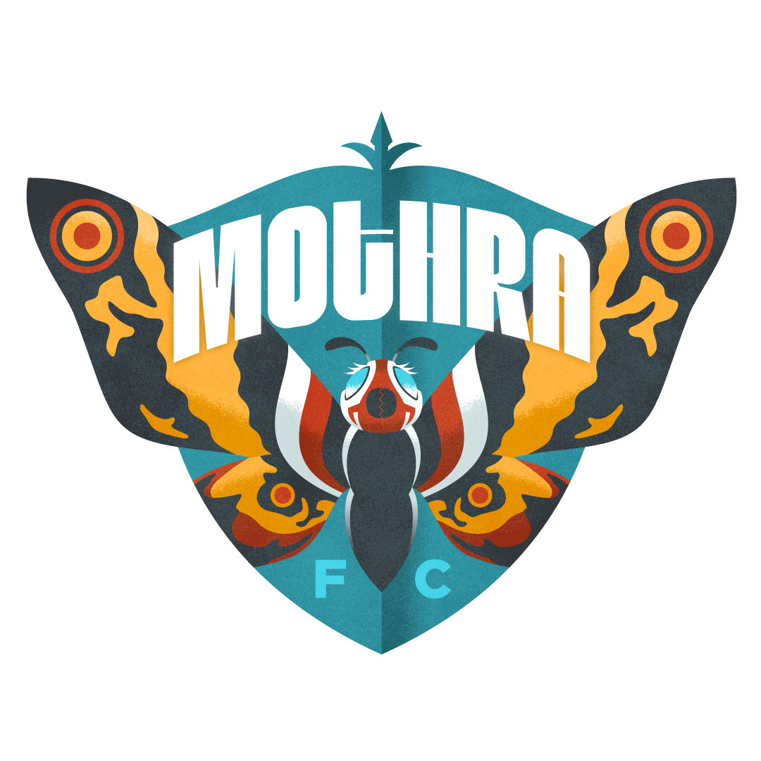 Mothra FC Kaiju Soccer
