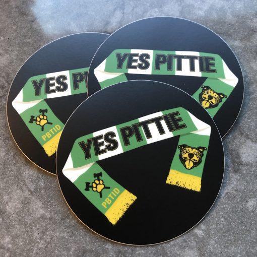 Yes Pittie stickers