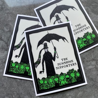 Sunshine Supporters stickers