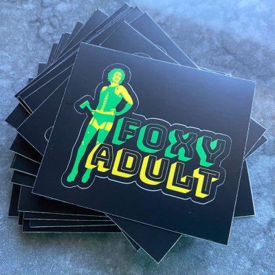 Foxy Adult stickers